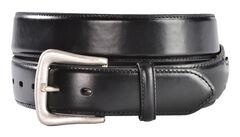Nocona Black Western Overlay Belt - Large, , hi-res