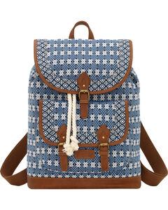 Bandana by American West Navy Santa Fe Drawstring Backpack, , hi-res