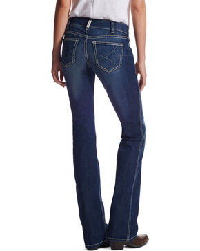 Ariat Women's Ella R.E.A.L. Riding Jeans, Blue, hi-res