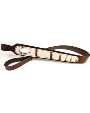 Southern Trapper Zebra Rifle Strap , Black, hi-res