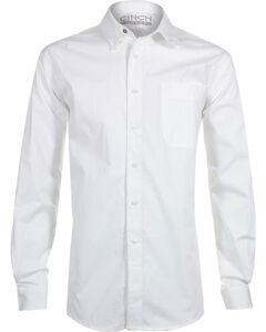Cinch Men's White Modern Fit Long Sleeve Western Shirt , , hi-res