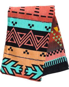 BB Ranch Southwest Print Towel, No Color, hi-res