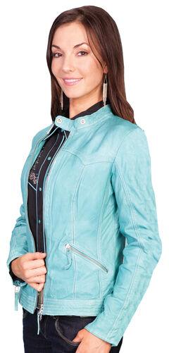 Scully Women's Lamb Skin Jacket, , hi-res