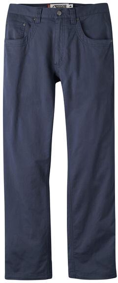 Mountain Khakis Men's Navy Camber Commuter Pants - Slim Fit , , hi-res