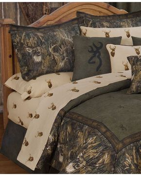 Browning Whitetails Full Sheet Set, Multi, hi-res