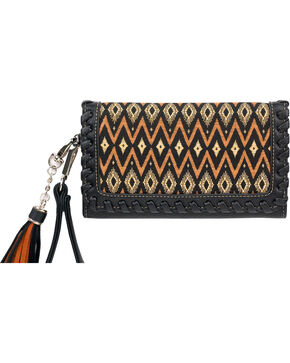 Blazin Roxx Women's Arizona Wristlet , Black, hi-res