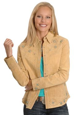 Scully Studded Leather Jacket, , hi-res