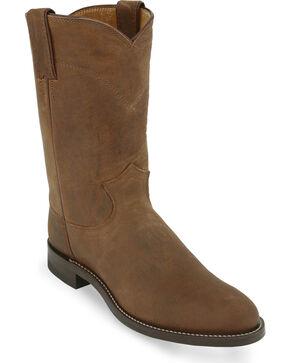 Original Justin Roper Cowboy Boots - Round Toe, Bay Apache, hi-res