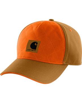 Carhartt Men's Upland Quilted Cap, Carhartt Brown, hi-res