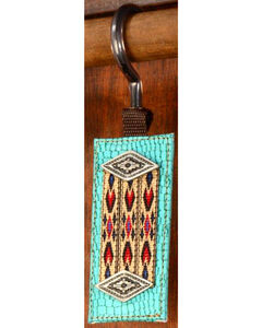 Phunky Horse Old Southwest Turquoise Clip Hat Hanger, , hi-res