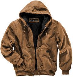 Dri Duck Men's Cheyenne Hooded Work Jacket , , hi-res