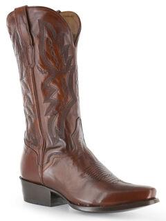 El Dorado Antique Calf Cowboy Boots - Square Toe, , hi-res