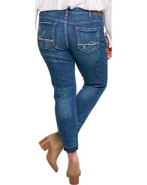 Silver Women's Indigo Dark Wash Sam Boyfriend Jeans - Plus, Indigo, hi-res