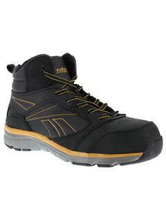 Reebok Men's Tarade High-Top Athletic Work Shoes - Composition Toe, , hi-res