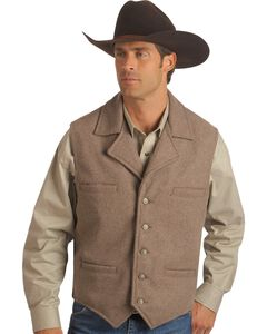 Schaefer Cattle Baron Wool Blend Vest, , hi-res