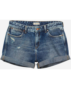 Wrangler Women's 70th Anniversary Boyfriend Shorts, , hi-res
