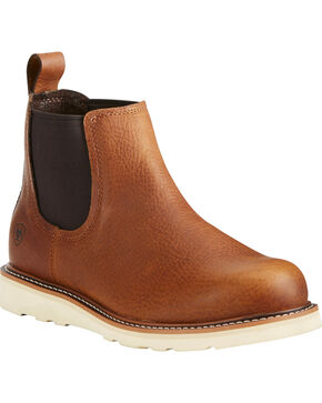 Ariat Men's Recon Pull On Boots - Soft Toe, Brown, hi-res