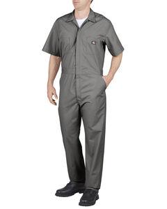 Dickies Short Sleeve Work Coveralls - Big & Tall, , hi-res
