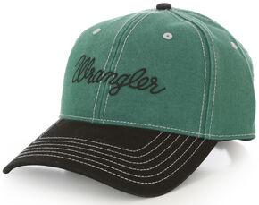 Wrangler Men's Green Logo Cap, Green, hi-res