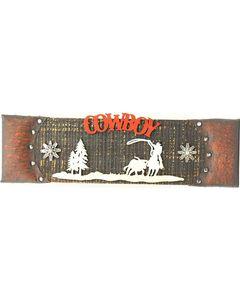 Western Moments Wooden Cowboy Sign, , hi-res