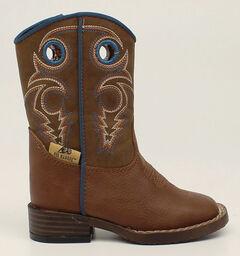 Double Barrel Toddler Boys' Dylan Cowboy Boots - Square Toe, , hi-res