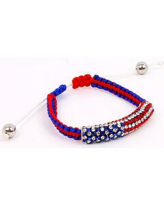 Ethel & Myrtle Women's American Spirit Adjustable Bracelet , , hi-res