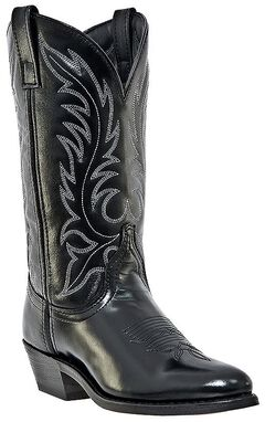 Laredo Classic Western Cowgirl Boots - Round Toe, , hi-res
