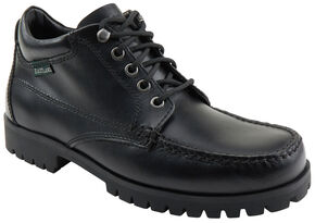 Eastland Men's Black Brooklyn Ankle Boots , Black, hi-res