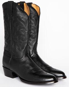 Cody James Men's Classic Black Western Boots - Medium Toe, , hi-res