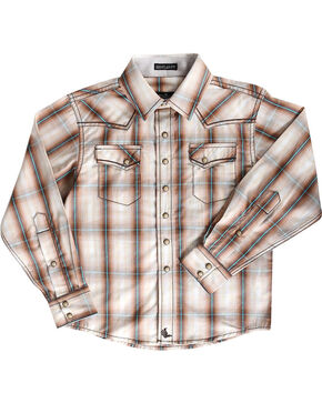 Cody James Toddler Boys' Trooper Long Sleeve Shirt , Brown, hi-res