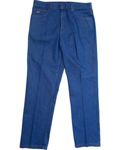 Lapco Men's Blue FR Relaxed Fit Jeans - Boot Cut, , hi-res