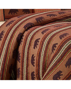 HiEnd Accents Bayfield Bear Queen Duvet, Multi, hi-res