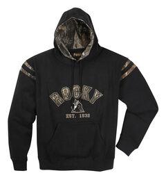 Rocky Men's Camo Hoodie Sweatshirt, , hi-res