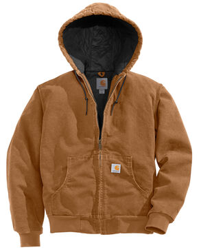 Carhartt Quilted Active Jacket, Brown, hi-res