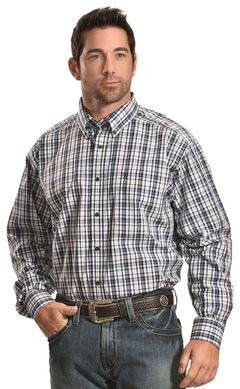 Ariat Men's Plaid Mountain Nomad Justin Shirt - Big & Tall , , hi-res