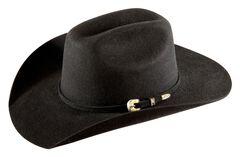 Bullhide Kids' Kingman Jr. Cattleman Wool Felt Cowboy Hat, , hi-res