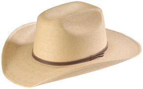Infant's Palm Leaf Straw Cowboy Hat, Natural, hi-res