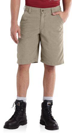 Carhartt Ardmore Khaki Shorts, , hi-res