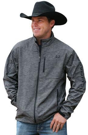 Cinch Men's Grey and Black Bonded Jacket, Grey, hi-res