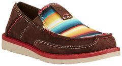 Ariat Kid's Brown Cruiser Shoes - Moc Toe, , hi-res