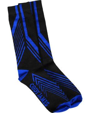 Cody James Men's Coolmax Performance Socks , Black, hi-res