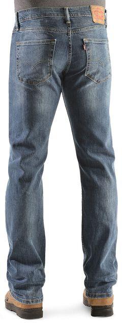 Levi's 527 Black Stone Rinse Bootcut Jeans, , hi-res