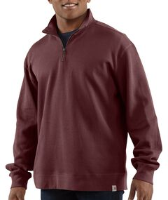 Carhartt Sweater Knit Quarter Zip Sweatshirt, , hi-res