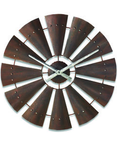 Big Sky Carvers by Demdaco Windmill Clock, , hi-res