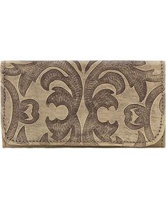 American West Sand Baroque Tri-Fold Wallet , , hi-res