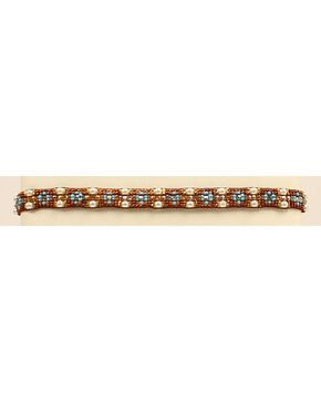 Blazin Roxx Beaded Pearl Headband, Pearl, hi-res