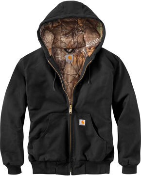 Carhartt Men's Huntsman Active Jacket - Big & Tall, Black, hi-res
