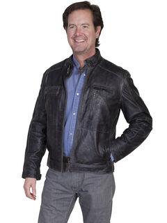 Scully Men's Hand Finished Lamb Jacket, Grey, hi-res