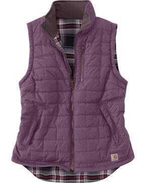 Carhartt Women's Amoret Reversible Vest, Violet, hi-res