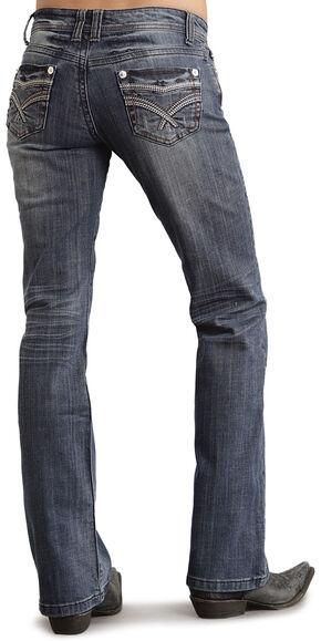 Stetson Women's 818 Contemporary Bootcut Jeans, Denim, hi-res